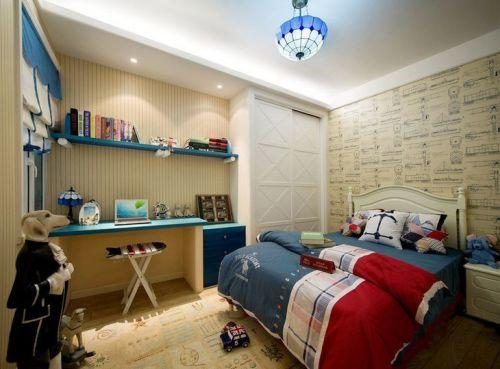 地中海地中海风格卧室设计方案