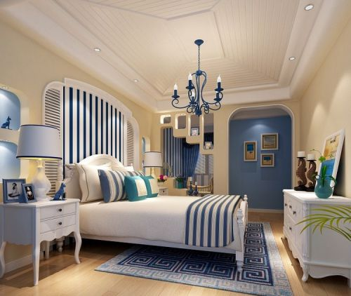 地中海卧室设计图