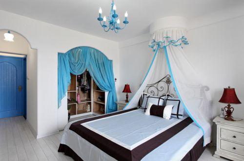 地中海卧室窗帘设计图