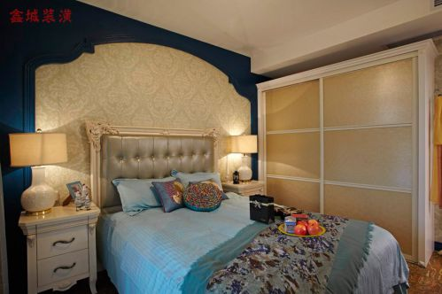 地中海卧室衣柜设计案例展示