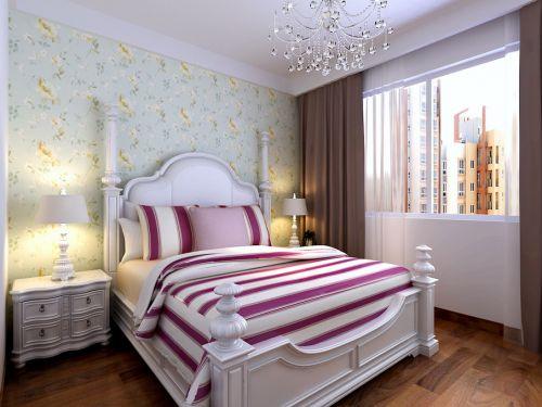 地中海卧室吊顶窗帘图片