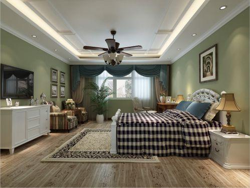 地中海卧室吊顶设计方案