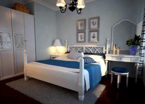 地中海卧室复式楼设计案例展示