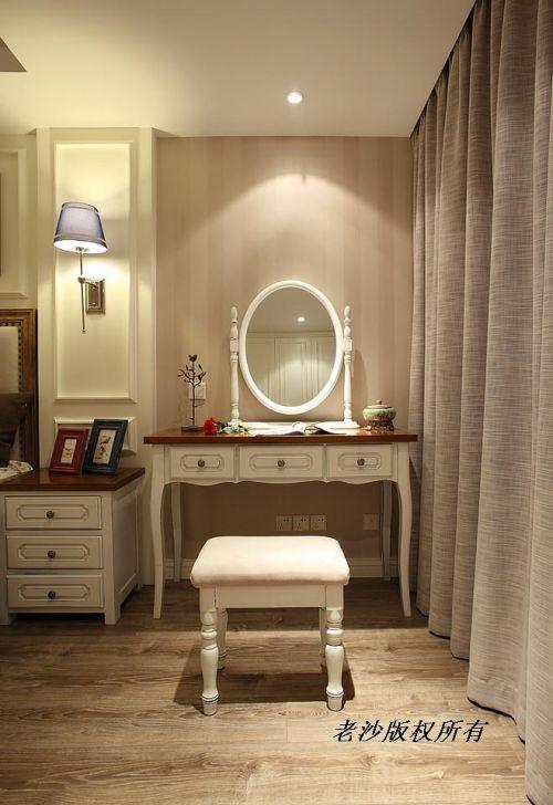 地中海美式卧室设计图