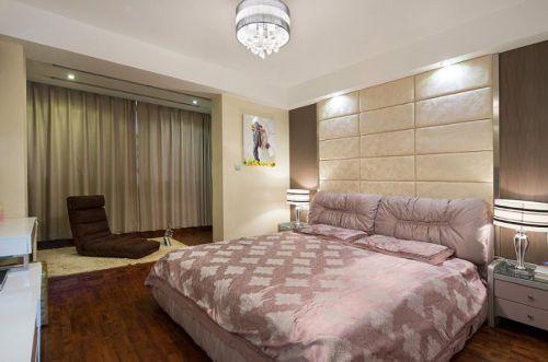 现代简约地中海卧室案例展示