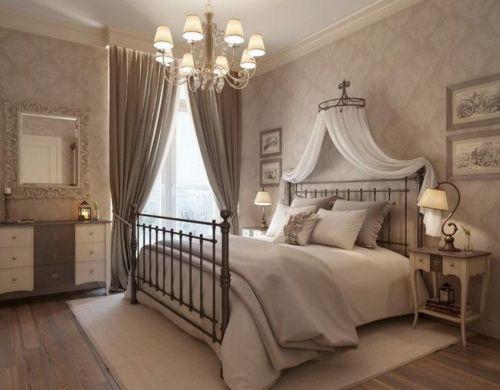 现代简约地中海美式混搭复古卧室图片