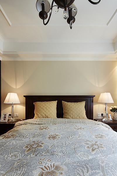 美式混搭复古卧室案例展示