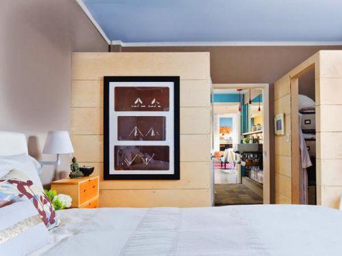 现代简约地中海美式混搭复古卧室设计案例