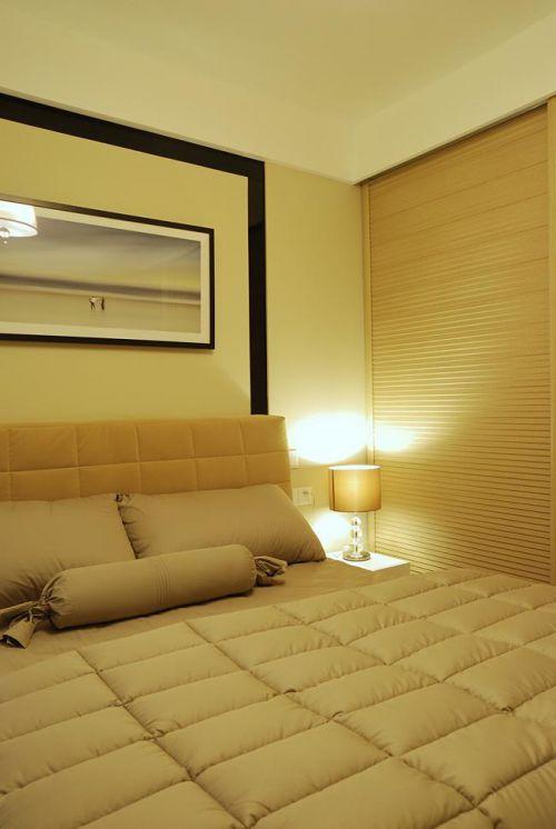 现代简约中式混搭卧室设计案例展示