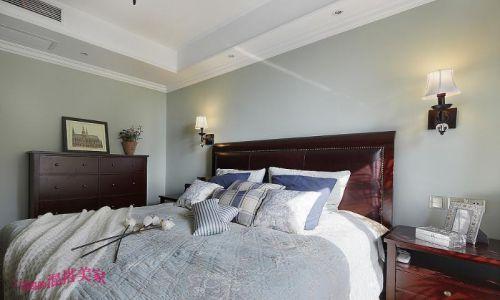 美式混搭复古卧室装修案例