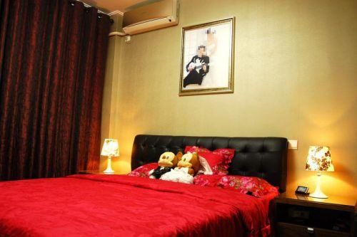 中式欧式新古典混搭卧室装修案例