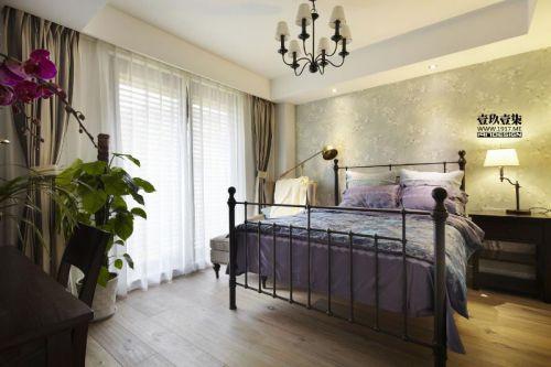 现代简约美式混搭卧室案例展示