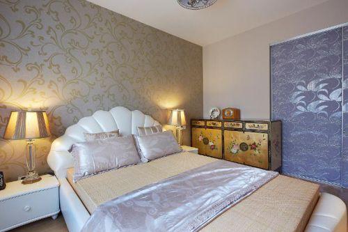 欧式新古典混搭卧室装修案例