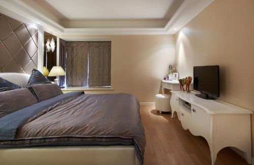 欧式新古典混搭卧室设计图