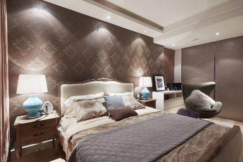 现代简约美式混搭卧室设计案例展示