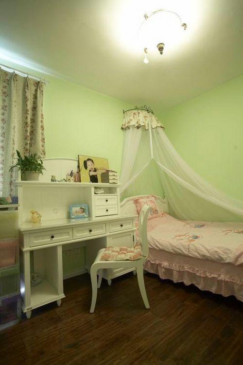 美式混搭复古卧室设计图