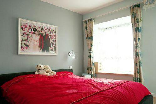 田园韩式混搭卧室设计案例展示