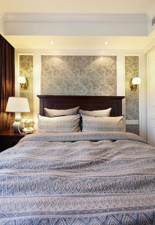 现代简约美式混搭卧室图片