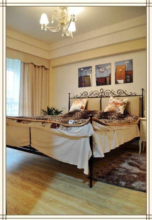 地中海混搭清新复古卧室设计案例