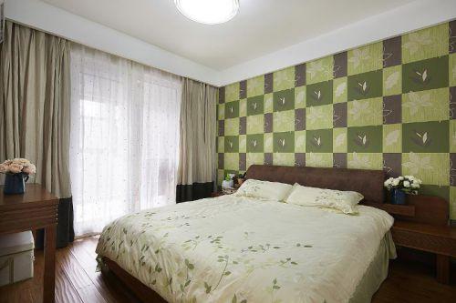 现代简约日式混搭卧室装修案例