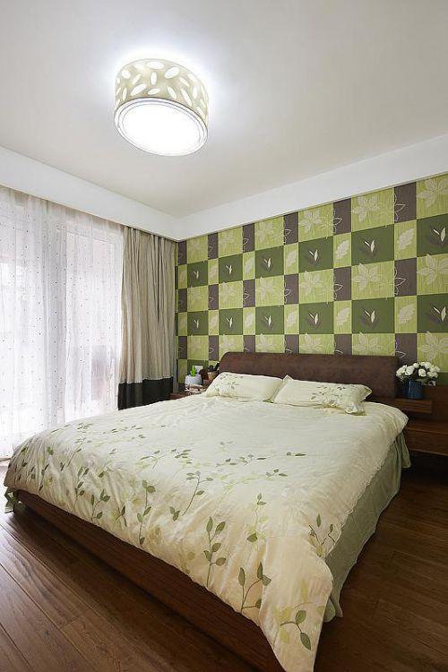 现代简约日式混搭卧室设计方案