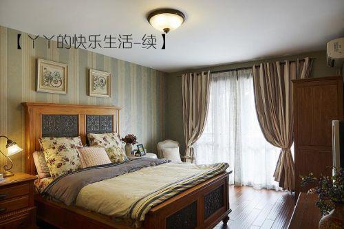 中式田园日式混搭复古卧室设计案例