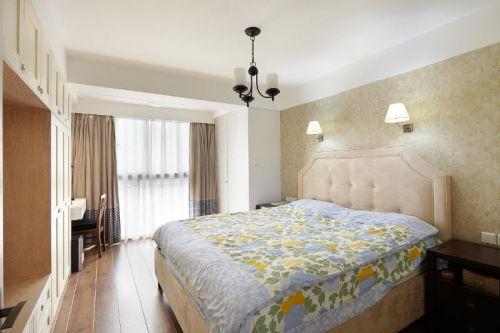 中式田园混搭复古卧室装修案例