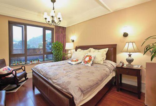 美式混搭复古卧室设计案例