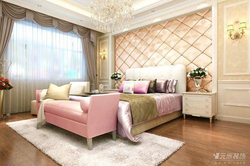 欧式简欧简欧风格卧室别墅设计案例