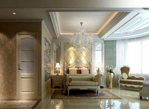 简欧卧室吊顶设计案例