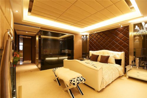 简欧卧室吊顶设计方案