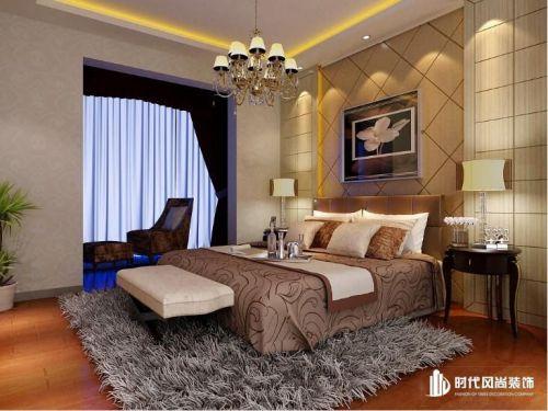 欧式简欧简欧风格卧室装修案例