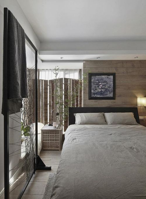 现代简约中式日式卧室案例展示