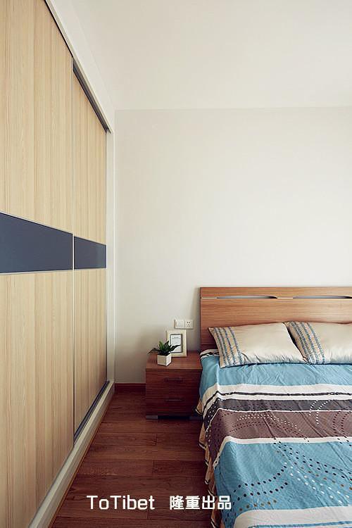 现代简约日式卧室效果图