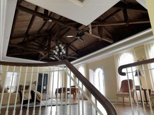 简欧卧室别墅吊顶图片