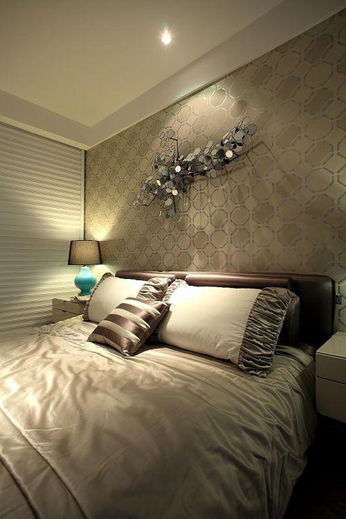 简欧清新自然卧室案例展示