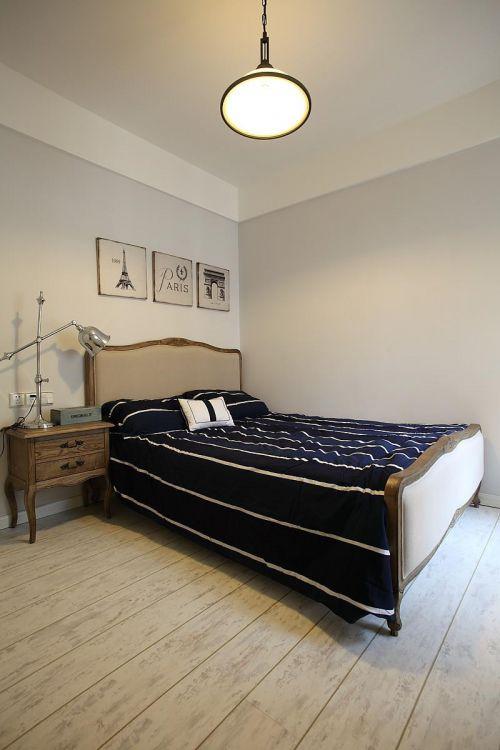 简欧清新自然卧室设计案例