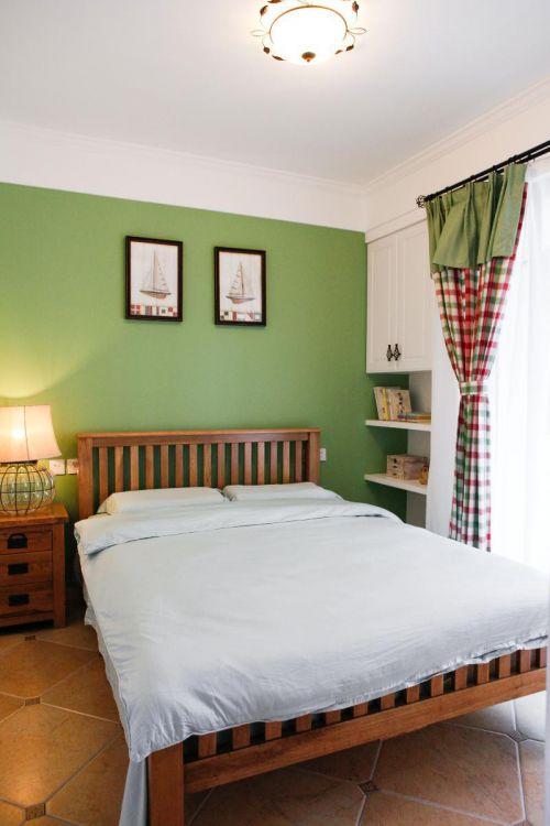 简欧美式混搭复古卧室案例展示