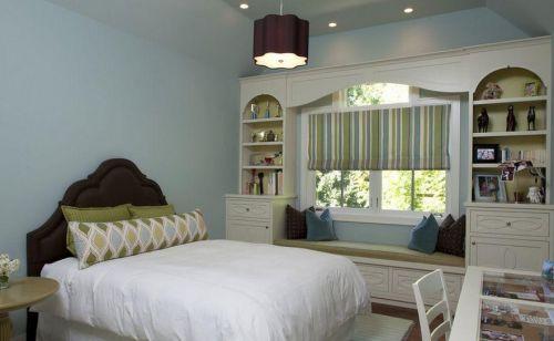 欧式简欧卧室飘窗&落地窗设计图