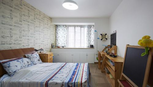 欧式简欧清新卧室装修案例