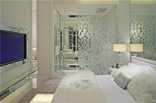 现代简约简欧卧室图片