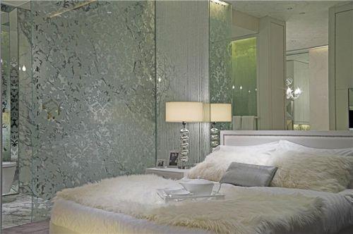 现代简约简欧卧室装修案例
