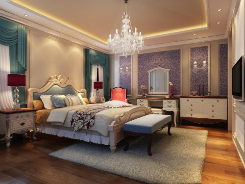 欧式新古典卧室装修效果展示
