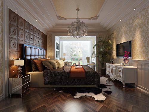 欧式新古典卧室图片