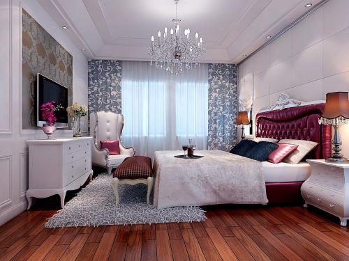 欧式新古典卧室设计图
