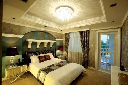新古典后现代卧室设计图