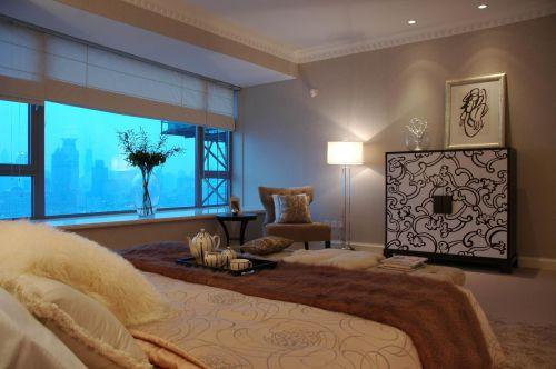现代简约新古典卧室设计图