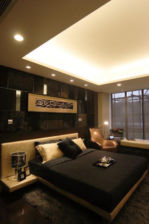 现代简约新古典卧室设计案例