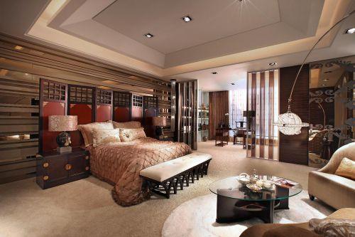 中式新古典混搭卧室设计案例