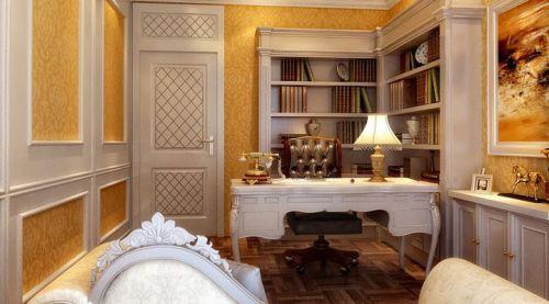 欧式简欧简欧风格书房设计案例